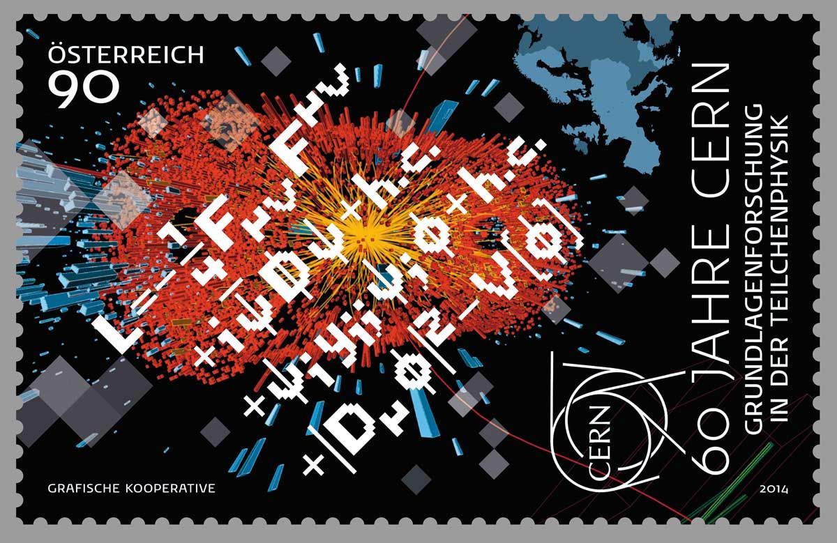 (2014) MiNr. 3128 ** - Rakousko - 60 roků CERN