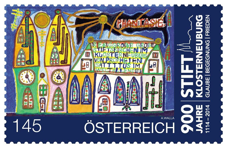 (2014) MiNr. 3132 ** - Rakousko - 900 roků Stift Klosterneuburg