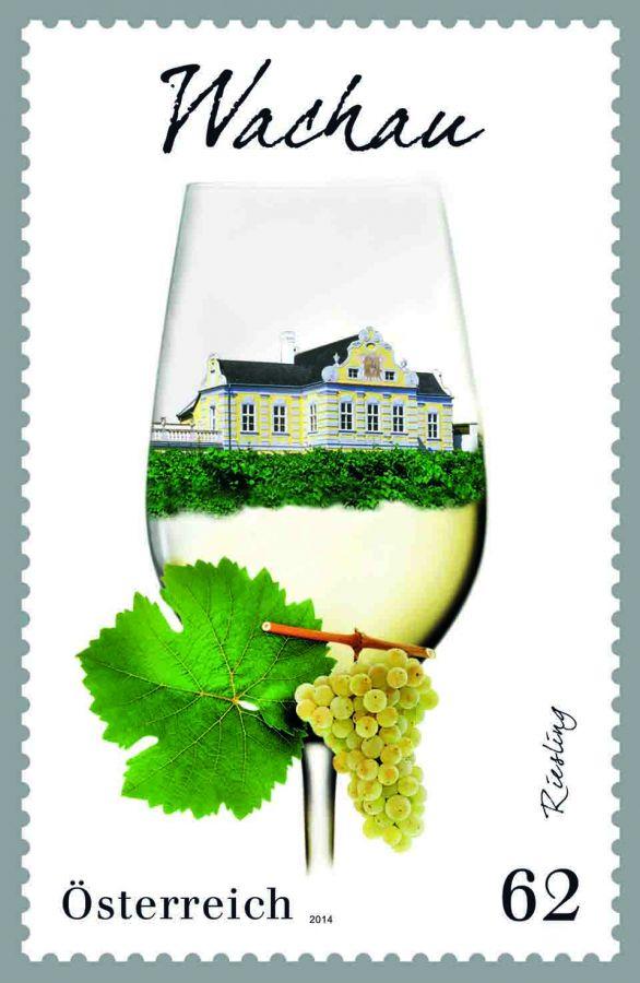 (2014) MiNr. 3133 ** - Rakousko - Vinařské oblasti Rakouska - Wachau