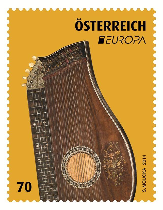 (2014) MiNr. 3134 ** - Rakousko - EUROPA 2014 - Citera