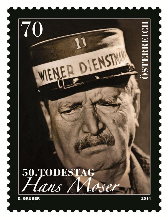 (2014) MiNr. 3143 ** - Rakousko - Hans Moser