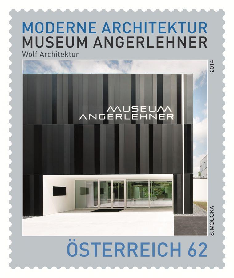 (2014) MiNr. 3155 ** - Rakousko - Moderní architektura v rakouském muzeum Angerlehner