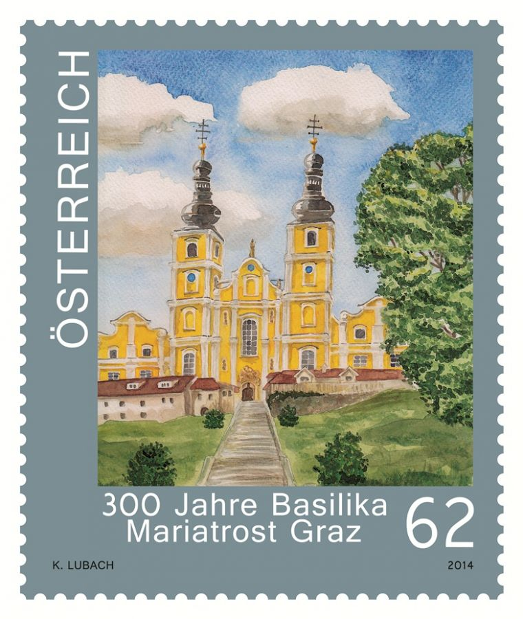 (2014) MiNr. 3156 ** - Rakousko - Kostely v Rakousku