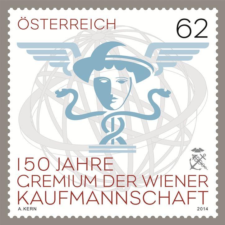 (2014) MiNr. 3161 ** - Rakousko - 150 L. těla Vídeňského obchodníka