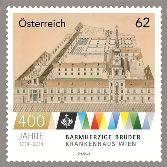 (2014) MiNr.3121 ** - Rakousko - 400 J. Milosrdných bratří KH