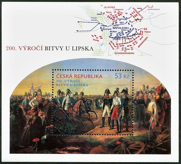 A 788 ** - ČR - 200. výročí bitvy u Lipska