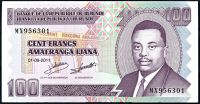 Burundi - (P 44b)  100 Francs (2011) - UNC