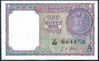 Indie - (P76) - 1 RUPEE (1963) - UNC
