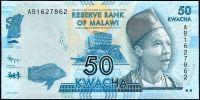 Malawi - (P 58) 50 KWACHA (2012) - UNC