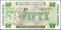 Velká Británie - (PM49) armáda 50 PENCI (1972) - UNC