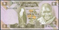 Zambie - (P 24c) 2 Kwacha (1986) - UNC