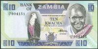 Zambie - (P 26e) 10 Kwacha (1986) - UNC