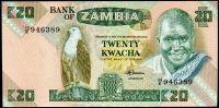 Zambie - (P 27e) 20 Kwacha (1986) - UNC