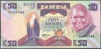 Zambie - (P 28) 50 Kwacha (1986) - UNC