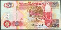 Zambie - (P 37h) 50 Kwacha (2009) - UNC