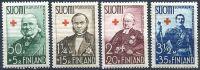 (1938) MiNr. 204 - 207 ** - Finsko - Červený kříž