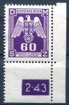 (1943) MiNo. 16 ** -  B. ü. M. - Service stamps