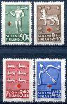 (1943) MiNr. 271 - 274 ** - Finsko - Červený kříž