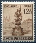 (1944) MiNo. 886 ** - Deutsches Reich - 1200 years city of Fulda.