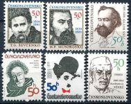 (1989) MiNo. 2988 - 2993 ** - Czechoslovakia - postage stamps