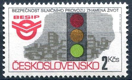 (1992) č. 3005 ** - ČSSR - Bezpečnost silničního provozu - BESIP