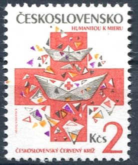 (1992) č. 3012 ** - ČSSR - Československý červený kříž