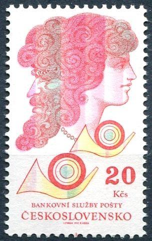 (1992) č. 3021 ** - ČSSR - Poštovní banka