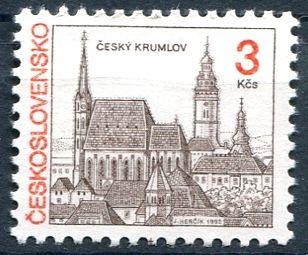 (1992) č. 3024 ** - ČSSR - Český Krumlov