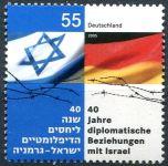 (2005) MiNr. 2498 ** - Německo - Diplomatické vztahy s Izraelem