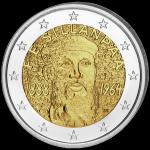 (2013) 2€ - Finsko - 125. výročí narození - Sillanpaa (UNC)