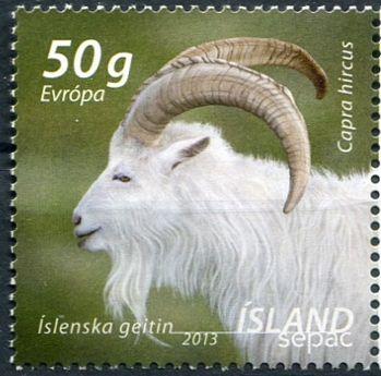 (2013) MiNr. 1403 ** - Island - SEPAC: Zvířata
