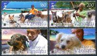 (2013) MiNr. 1492 - 1495 ** - Vanuatu - psi na Vanuatu