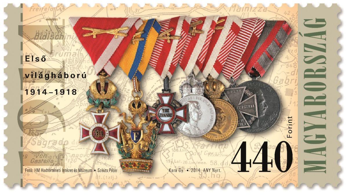 (2014) MiNr. 5718 ** - Maďarsko - 100. výročí začátku I. sv. války