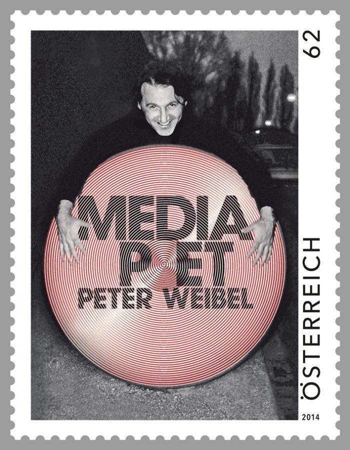 (2014) MiNr. 3169 ** - Rakousko - Současné umění - Peter Weibel