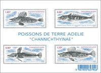 Zobrazit detail - (2015) MiNr. 878 - 881 ** - Francouzská Antarktida - Block 45 - ryby
