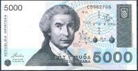 Croatia - (P 24) 5000 DINARA 1992 - UNC