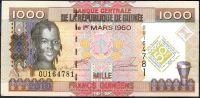 Guinea - (P 43) 1000 FRANCS (2010) - UNC