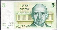 Izrael - (P 44) 5 Šekelů (1978) - UNC