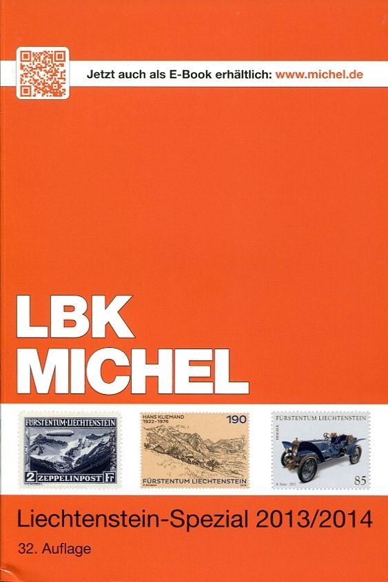 Katalog MICHEL- Lichtenštejnsko - speciál 2013/2014
