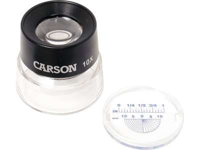 Příložní lupa se stupnicí LumiLoupe Carson LL-20