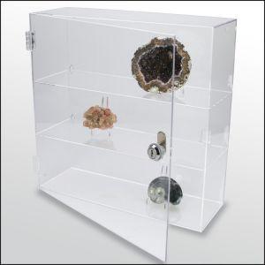 SAFE - Malá vitrína pro sběratelské předměty - minerály, modely, figurky