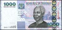 Tanzánie - (P 36) 1000 Shilingi (2003) - UNC